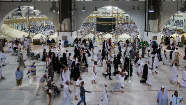 hajj 2017 saudi arabia - spirituality stock videos and b-roll footage