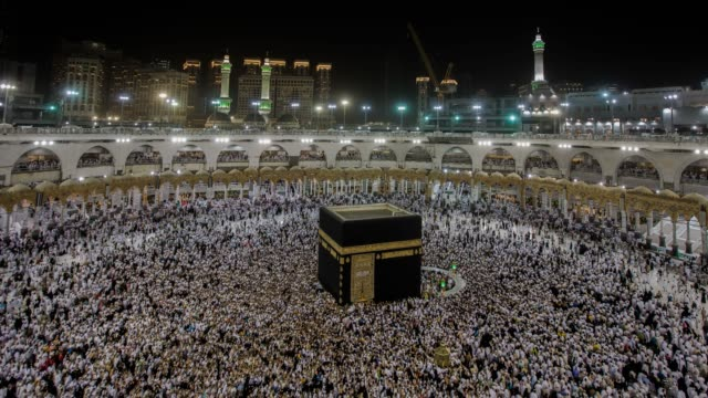 hajj 2019 - pellegrino video stock e b–roll