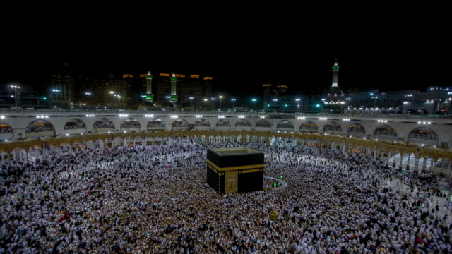 hajj on saudi arabia - eid mubarak stock videos & royalty-free footage