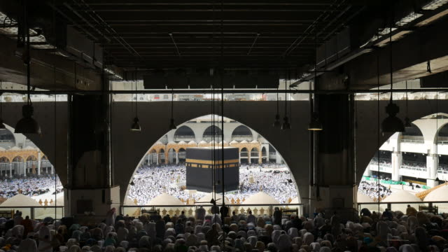 hajj - mecca stock videos and b-roll footage