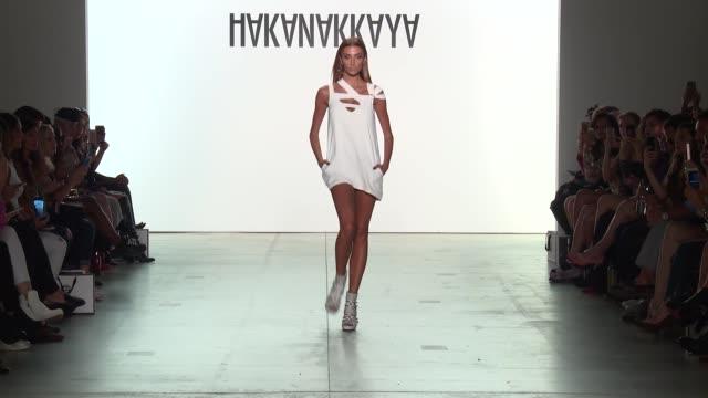 Hakan Akkaya Runway at Gallery 2 Skylight at Clarkson Sq on September 11 2017 in New York City