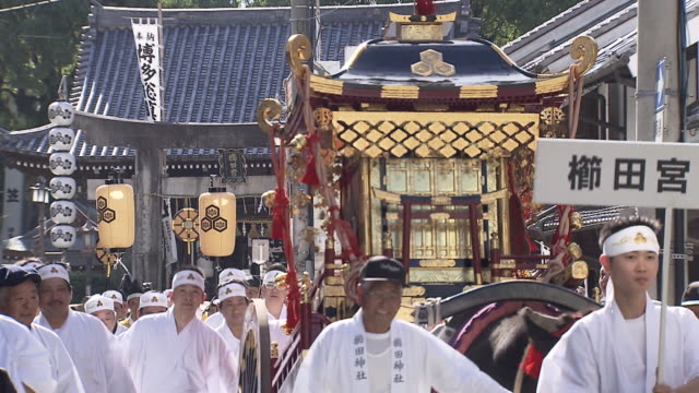Hakata Okunchi Festival is a traditional thanksgiving festival which has been held for more than 1200 years at Kushida Shrine in Hakata Fukuoka Japan...