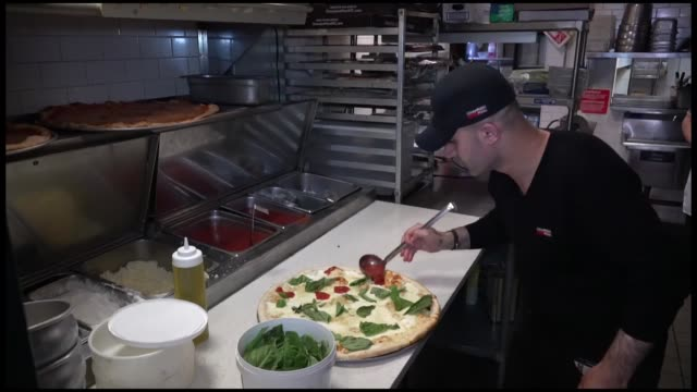 hakki akdeniz, once homeless but now owner of the famous champion pizza chain in new york, has received four proclamations in the u.s. -- one from... - chain stock videos & royalty-free footage
