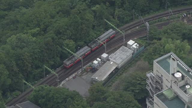 AERIAL, Hakone Tozan Line, Kanagawa, Japan