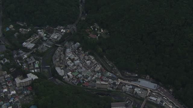 AERIAL, Hakone Yumoto Area, Kanagawa, Japan