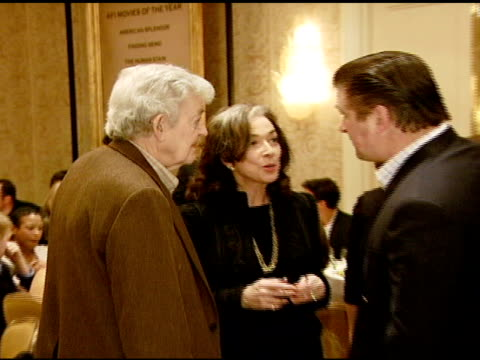 Hal Holbrook and Alec Baldwin at the 2007 AFI Awards Honors Creative Teams at Four Seasons Hotel in Los Angeles Calfironia on January 11 2008