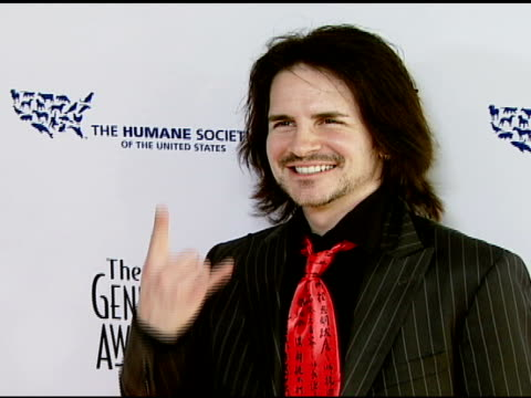 hal sparks at the 2008 genesis awards at the beverly hilton in beverly hills, california on march 30, 2008. - sparks点の映像素材/bロール