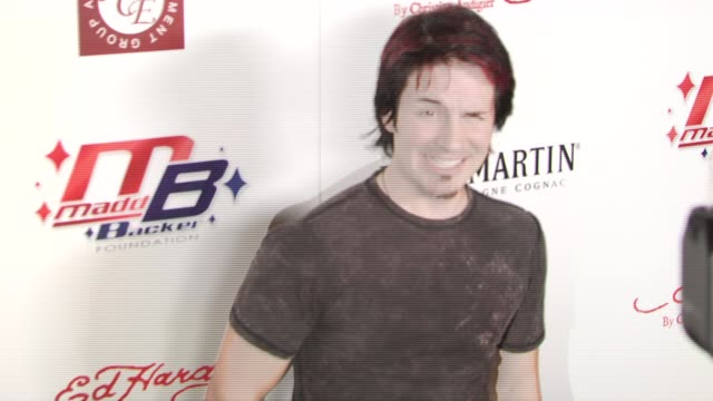 hal sparks at the kiss and tell party at playboy mansion in los angeles, california on april 22, 2007. - sparks点の映像素材/bロール