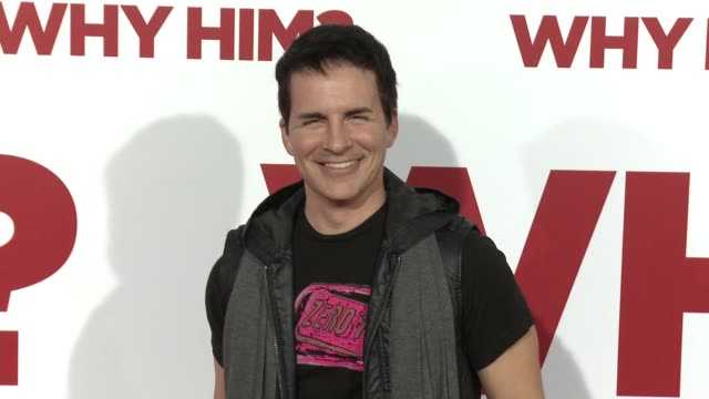 Hal Sparks at the Why Him World Premiere at Regency Bruin Theater on December 17 2016 in Westwood California