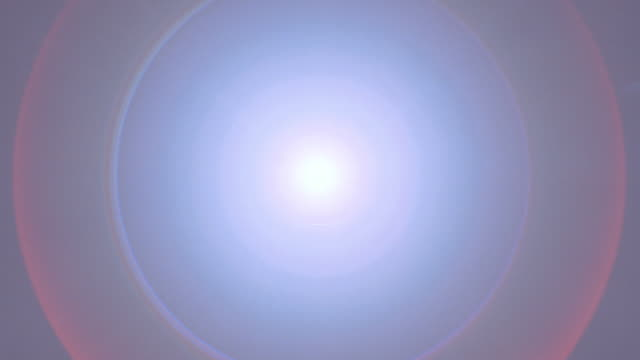 halations form around the bright sun in the dark sky. - concentric stock videos & royalty-free footage