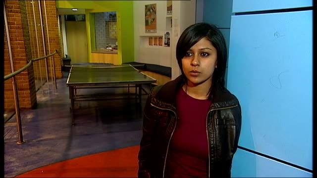 int haleema karim interview sot haleema karim chatting to city gateway jobseekers charity worker - job search stock videos and b-roll footage