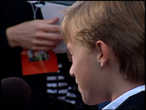 Haley Joel Osment at the 'Toy Story 2' Premiere at the El Capitan Theatre in Hollywood California on November 13 1999