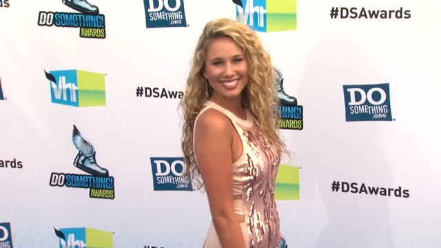 Haley Reinhart at 2012 Do Something Awards on 8/19/12 in Santa Monica CA