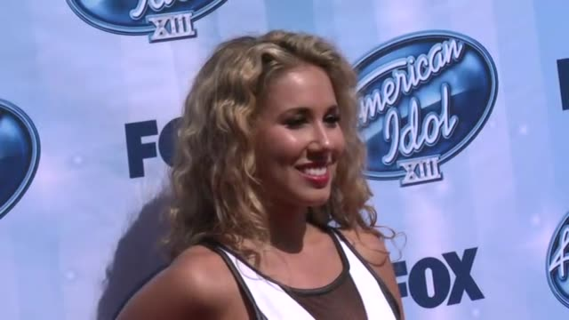 Haley Reinhart at American Idol XIII 2014 Finale at Nokia Theatre LA Live on May 21 2014 in Los Angeles California
