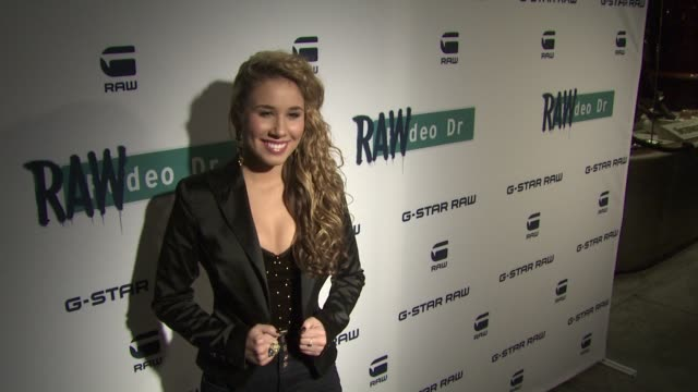 Haley Reinhart at GStar Rodeo Drive Opening on 12/6/11 in Beverly Hills CA