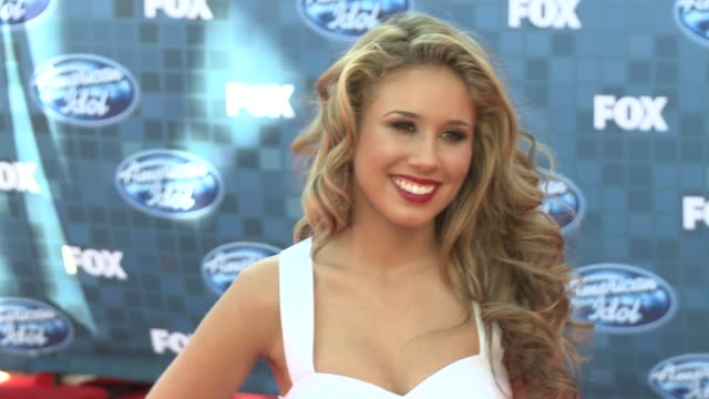 Haley Reinhart at the Fox's 'American Idol 2011' Finale Results Show at Los Angeles CA