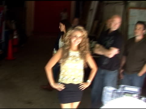 Haley Reinhart poses for photographers in New York 06/02/11
