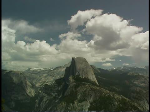 half dome, yosemite - half dome stock videos & royalty-free footage