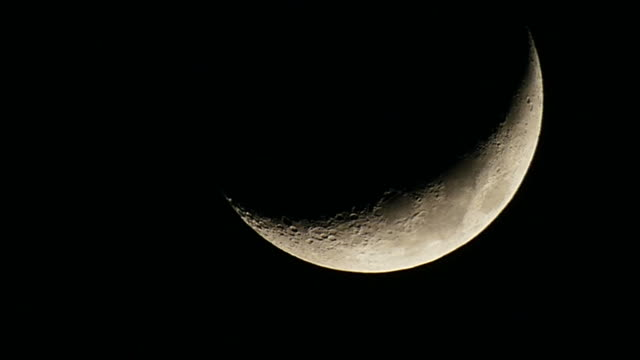 half moon flowing down - crescent stock videos & royalty-free footage