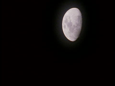 wa half moon in black sky, amazon - half moon stock videos & royalty-free footage