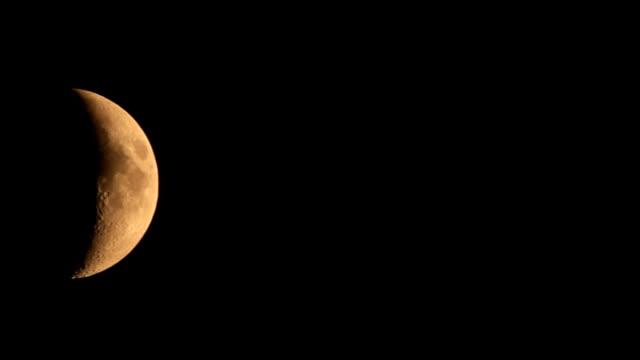 half moon - half moon stock videos & royalty-free footage