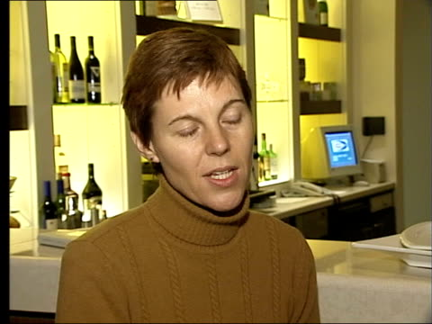 half workforce suffers stress ms liz tucker towards on street pull out liz tucker interviewed sot it was definitely stress that caused it but it was... - legal system stock videos and b-roll footage