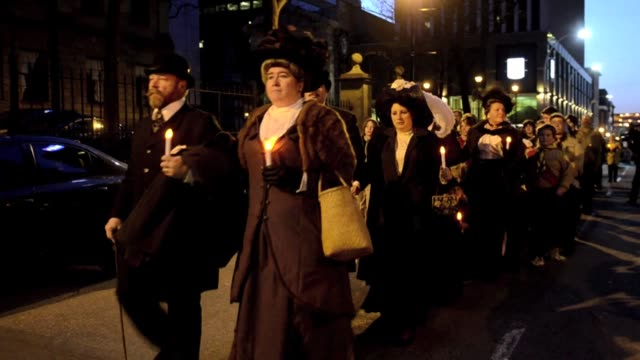 halifax marked the 100th anniversary of the tragic sinking of the iconic passenger liner titanic halifax canada - nova scotia stock videos and b-roll footage
