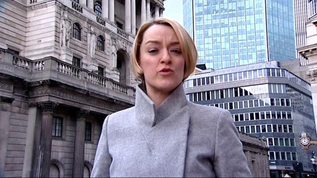 halifax raises monthly mortgage rates london bank of england int paul smee interview sot - ローラ・クエンスバーグ点の映像素材/bロール