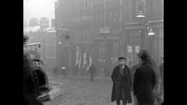 halifax steet scenes, 1902 - edwardian style stock videos & royalty-free footage