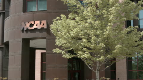 ncaa hall of champions - headquarters stock videos & royalty-free footage