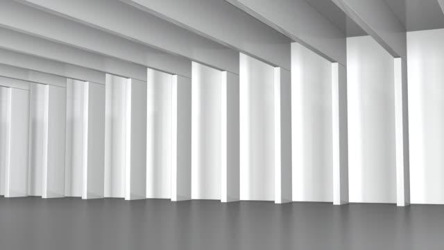 Hall mit weiße Balken