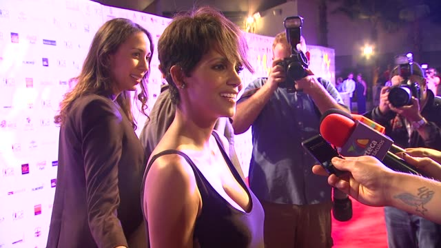 Halle Berry at Halle Berry Honored At Closing Night Of The 9th Annual Acapulco Film Festival in Mexico 1/30/14