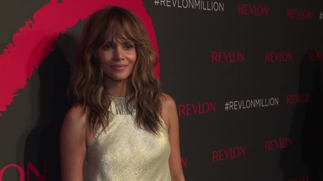 Halle Berry at Revlon's 2nd Annual Love Is On Million Dollar Challenge Finale Party at the Glass Houses on December 1 2016 in New York City