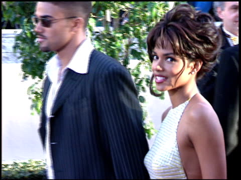 halle berry at the 1997 golden globe awards at the beverly hilton in beverly hills california on january 19 1997 - halle berry stock videos and b-roll footage