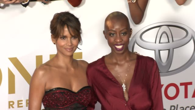 halle berry at the 49th naacp image awards at pasadena civic auditorium on january 15 2018 in pasadena california - halle berry stock videos and b-roll footage