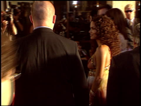 halle berry at the 'catwoman' premiere at the cinerama dome at arclight cinemas in hollywood california on july 19 2004 - halle berry stock videos and b-roll footage