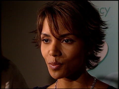 halle berry at the women in film awards at the century plaza hotel in century city california on september 20 2002 - halle berry stock videos and b-roll footage