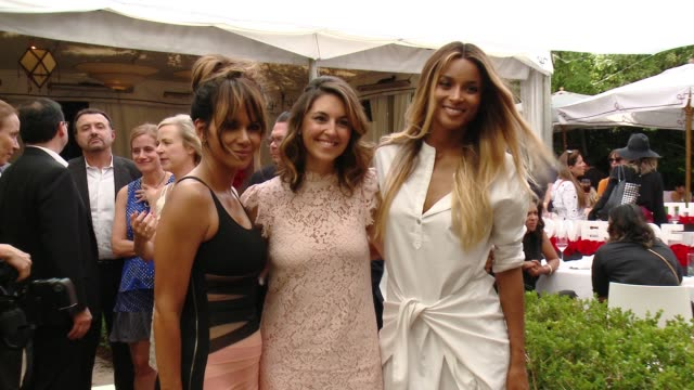 Halle Berry Kara Dolce Ciara at Revlon's Annual Philanthropic Luncheon in Los Angeles CA