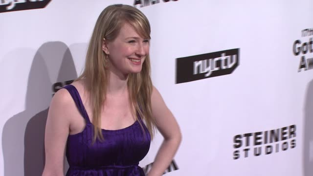halley feiffer at the 17th annual gotham awards presented by ifp at steiner studios in brooklyn, new york on november 27, 2007. - independent feature project stock videos & royalty-free footage