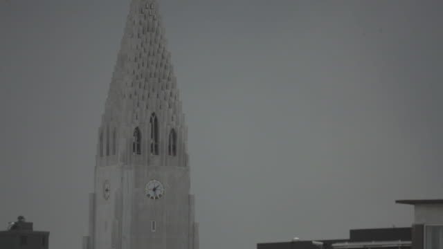 hallgrímskirkja church - 1937 stock videos & royalty-free footage