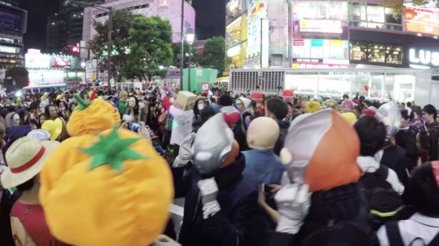 Halloween Celebration in Shibuya
