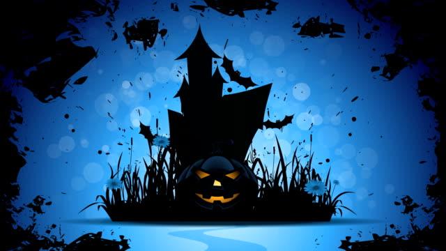 halloween footage - halloween wallpaper stock videos and b-roll footage