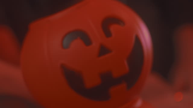 halloween pumpkin - evil stock videos & royalty-free footage