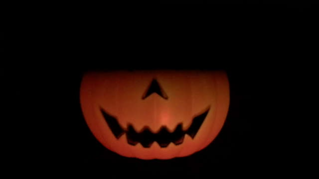 halloween pumpkin - interconnect plug stock videos & royalty-free footage