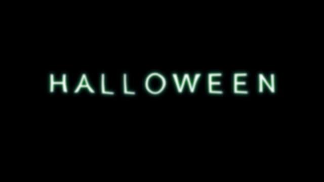 halloween title fogy hd - western script stock videos & royalty-free footage