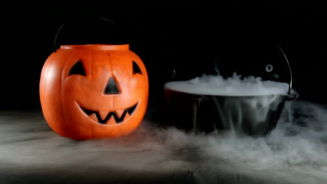 halloween witch's brew | video - dry ice stock videos & royalty-free footage