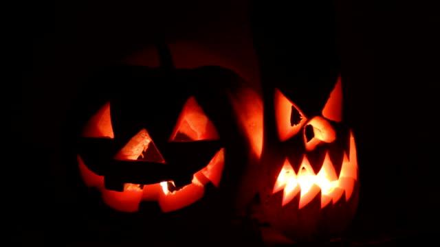 vídeos y material grabado en eventos de stock de halloween, calabaza - calabaza no comestible
