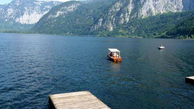 ハルシュタット、オーストリア - アッパーオーストリア点の映像素材/bロール