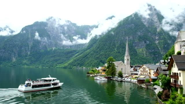 Hallstatt Boat Houses