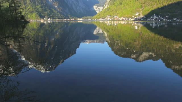 Hallstatter see lake at Hallstatt ,Austria